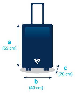 la moitié 2a1dc 7265d Bagage de cabine - Air Austral - conseils pour préparer ...