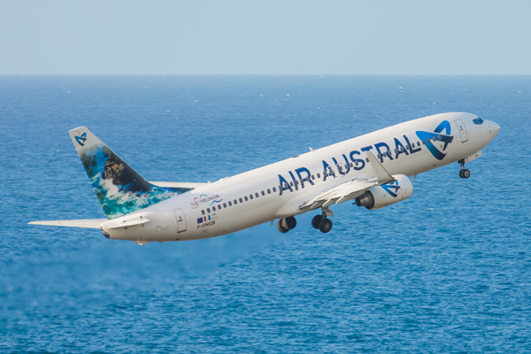 Boeing 737 800 air austral plan cabine visite en 360 for Air madagascar tarif vol interieur