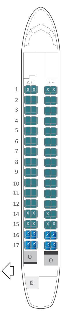 Atr 72 500 air austral plan cabine visite en 360 de l for Plans de cabine gratuits