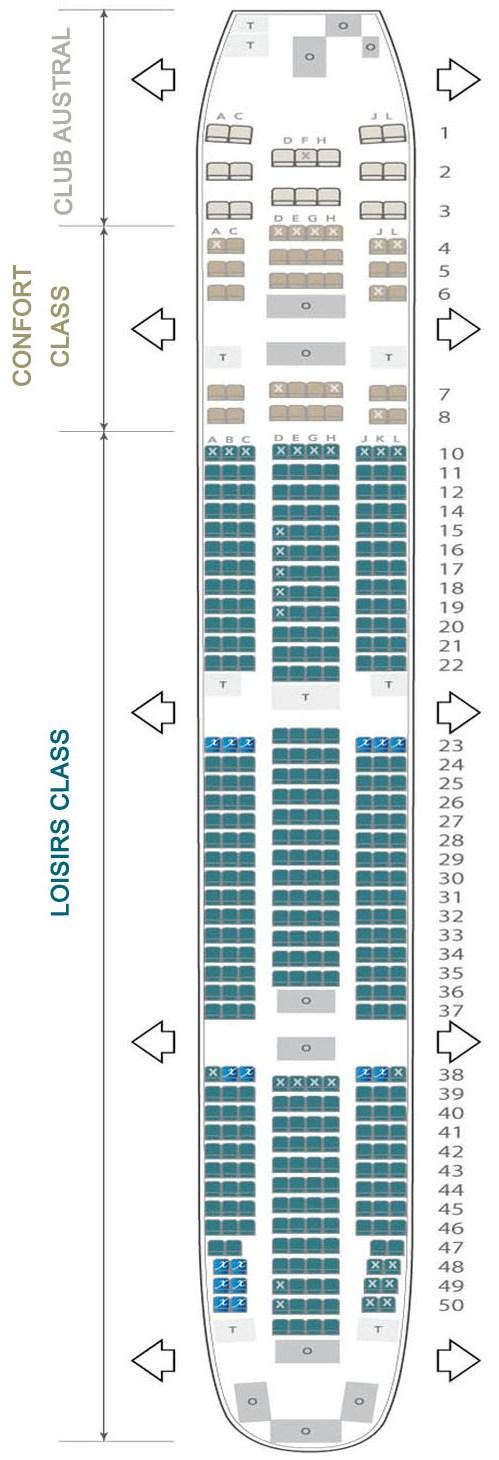 Boeing 777 300er seating chart for Plan cabine 777 300er