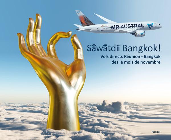 tha lande air austral destinations billet d 39 avion pas cher vol vers la thailande bangkok. Black Bedroom Furniture Sets. Home Design Ideas