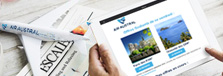 Inscription newsletters Air Austral