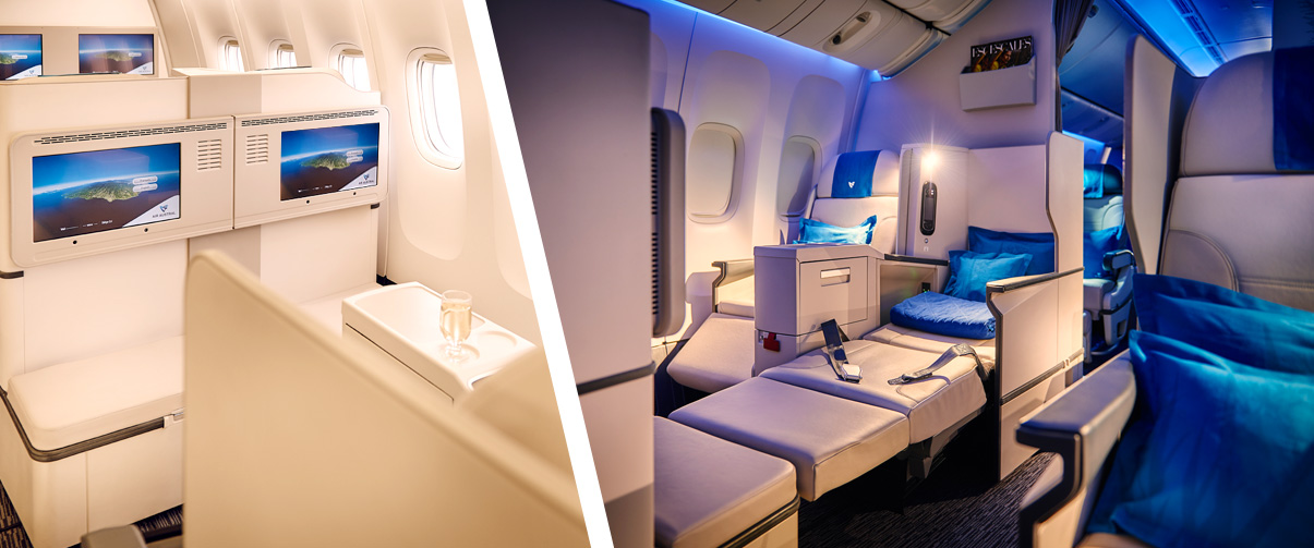 Club Austral Air Austral Business class