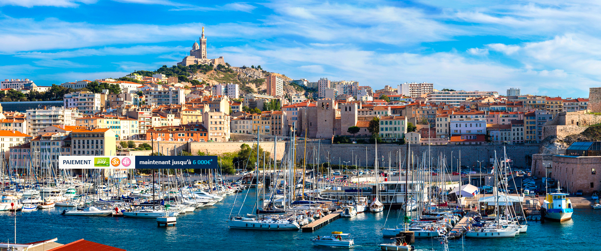 Marseille from Reunion Island 668€*