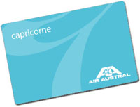 Carte Capricorne Air Austral