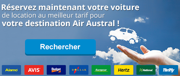 Location de voiture air austral r servez votre voiture for Air madagascar tarif vol interieur