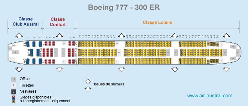 Boeing 777 300Er Seat Map